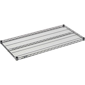 """Nexel S1848N Nexelon Wire Shelf 48""""W x 18""""D with Clips"""