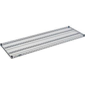 """Nexel S1872N Nexelon Wire Shelf 72""""W x 18""""D with Clips"""