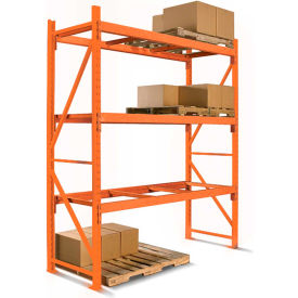 Cresswell Pre-Configured Pallet Rack Starter & Add-On Units