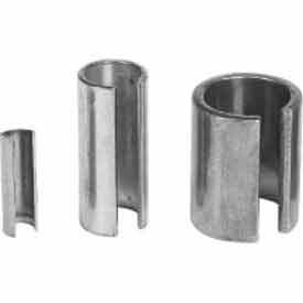 "Climax Metal, Reducer Bushing, SRB-040516, Galvanized Steel, 1/4""ID X 5/16""OD, 1""L"
