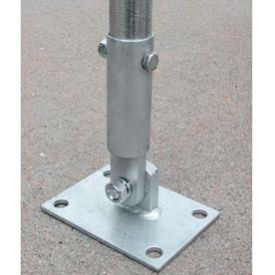 "Heavy Duty Mounting Feet for 1.90""/2.375"" OD pipe"