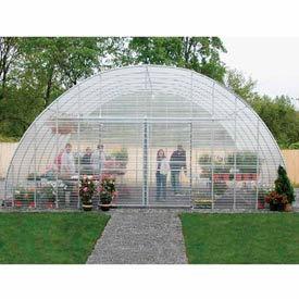 Clear View Greenhouse Kit 26'W x 12'H x 36'L - Propane