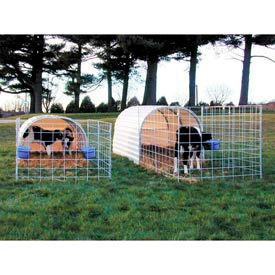 "Small Animal Hut 10'W x 6'5""H x 16'L"