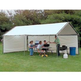 WeatherShield Portable White Canopy 8'W x 20'L