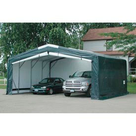 "Storage Master Elite 24'W x 14'4""H x 36'L Green"