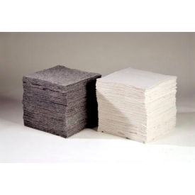 "Chemtex OILM1087 Sorbent Eco-Friendly Pads, Universal,16"" x 18"", Heavy Weight, Cotton, 100/Pack"