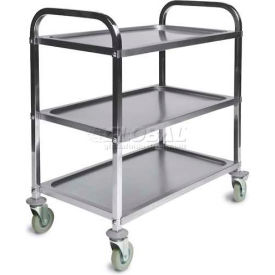 CSL Stainless Steel Service Cart with 3 Shelves