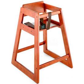 Koala Kare® Deluxe Wood High Chair, Dark Wood Finish, 1-Pack