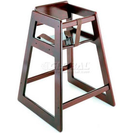 Koala Kare® Deluxe Wood High Chair, Mahogany Finish, 1-Pack