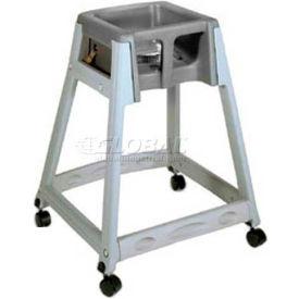 Koala Kare® KidSitter™ High Chair with Casters, Dark Brown Seat