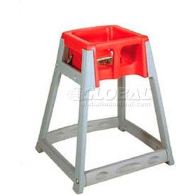 Koala Kare® KidSitter™ High Chair, Gray Frame/Red Seat
