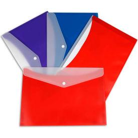 C-Line Products Zip 'N Go Reusable Envelope, Assorted - Pkg Qty 24