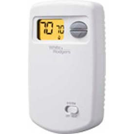 White-Rodgers™ Economy Single Stage (1H/0C) Non-Programmable Digital Thermostat, 1E78-140