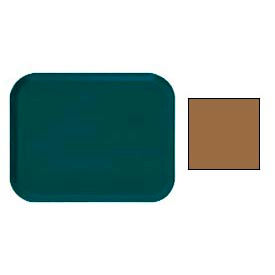 "Cambro 1014508 - Camtray 10"" x 14"" Rectangle,  Suede Brown - Pkg Qty 12"