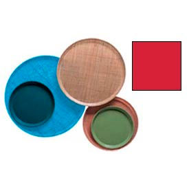 """Cambro 1100510 - Camtray 11"""" Round,  Signal Red - Pkg Qty 12"""