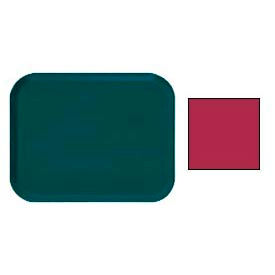 "Cambro 1216505 - Camtray 12"" x 16"" Rectangle,  Cherry Red - Pkg Qty 12"