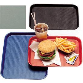 "Cambro 1216FF107 - Tray, Fast Food, Pearl Gray, 12"" x 16"" - Pkg Qty 24"