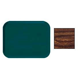 Cambro 1318308 - Camtray 13 x 18 Rectangle,  Burma Teak - Pkg Qty 12