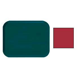 """Cambro 1418221 - Camtray 14"""" x 18"""" Rectangular,  Ever Red - Pkg Qty 12"""