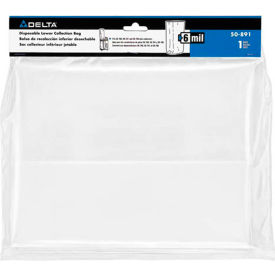 Delta 50-891 6 Mil Lower Collection Replacement Bag For 50-786 & 50-760 Dust Collectors