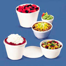 Dart® DCC8SJ20, Food Container, 8 oz.,Foam, White, 1,000/Carton