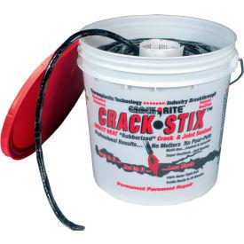 Bouche-fentes permanent Crack Stix™, 125 pi, moyen 1/2 po, noir – 2050