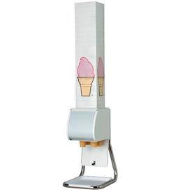 Dispense-Rite® BCDS-BFL Countertop Boxed Cone Dispenser