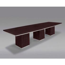 Flexsteel 18' Conference Table - Expandable Rectangular - 216W x 48D x 30H - Mocha - Pimlico Series