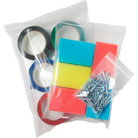 "Reclosable Polyethylene Bag, 3"" x 4"", Regular #2- 1,000 Bags/Pkg"