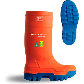 Dunlop® Purofort® Thermo+ Full Safety Men's Work Boots, Size 13, Orange
