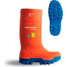 Dunlop® Purofort® Thermo+ Full Safety Men's Work Boots, Size 9, Orange
