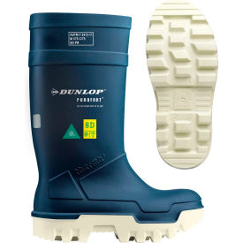 Dunlop® Purofort® Thermo+ Full Safety Men's Work Boots, Size 6, Blue