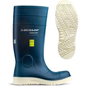 Dunlop® Purofort® Comfort Grip Men's Work Boots, Size 12, Blue