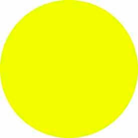 """Bright Yellow Discs 1/2"""" Dia."""