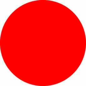 "Standard Red Discs 3/4"" Dia."