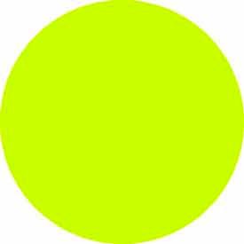 "Fluorescent Chartruse Discs 1"" Dia."