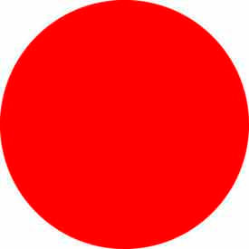 "Standard Red 2"" Dia. Discs"