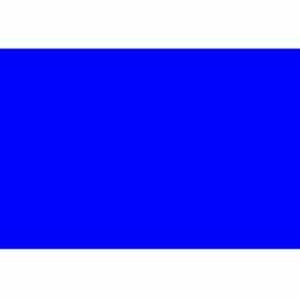 "2"" x 3"" Dk Blue Rectangle"