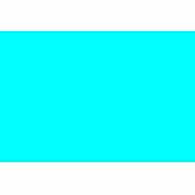 "2-3/4"" x 4"" Light Blue Rectangle"