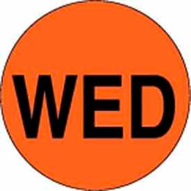 "Wed 2"" Dia. - Fluorescent Orange / Black"