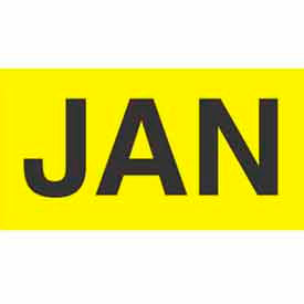 "Jan 3"" x 6"" - Bright Yellow / Black"