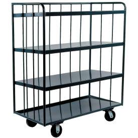 Durham Mfg.® Three-Sided Shelf Truck OPT-4824-95 48 x 24