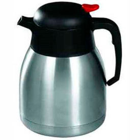 Winco CF-1.2 Stainless Steel Lined Carafe, 1.2 L - Pkg Qty 4