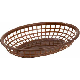 Winco PFB-10B Oval Fast Food Baskets - Pkg Qty 3