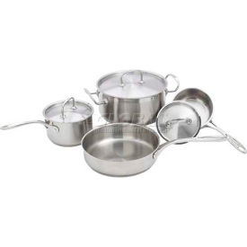 Winco SPC-7H Deluxe Cookware Set, 7 Piece