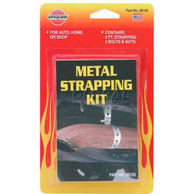 VersaChem® Metal Strapping Kit, 10105, 5 Ft. Strapping Kit