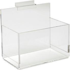 Acrylic Single Hosiery Bin - Clear - Pkg Qty 8
