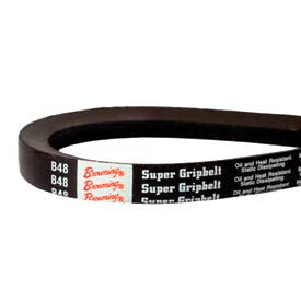 V-Belt, 21/32 X 51 In., B48, Wrapped
