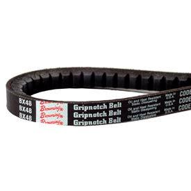 V-Belt, 21/32 X 131 In., BX128, Raw Edge Cogged