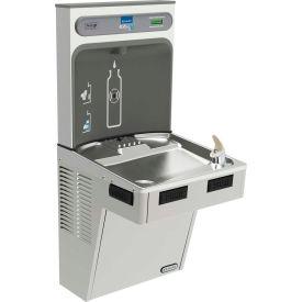 Station de remplissage de bouteille d'eau non réfrigérée Elkay EMABFDWSSK EZH2O avec fontaine ADA SS